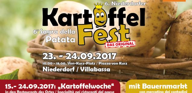 Broschüre zum 6. Kartoffelfest