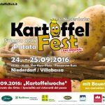 Broschüre zum 5. Kartoffelfest