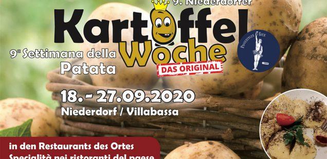 Broschüre zur 9. Kartoffelwoche